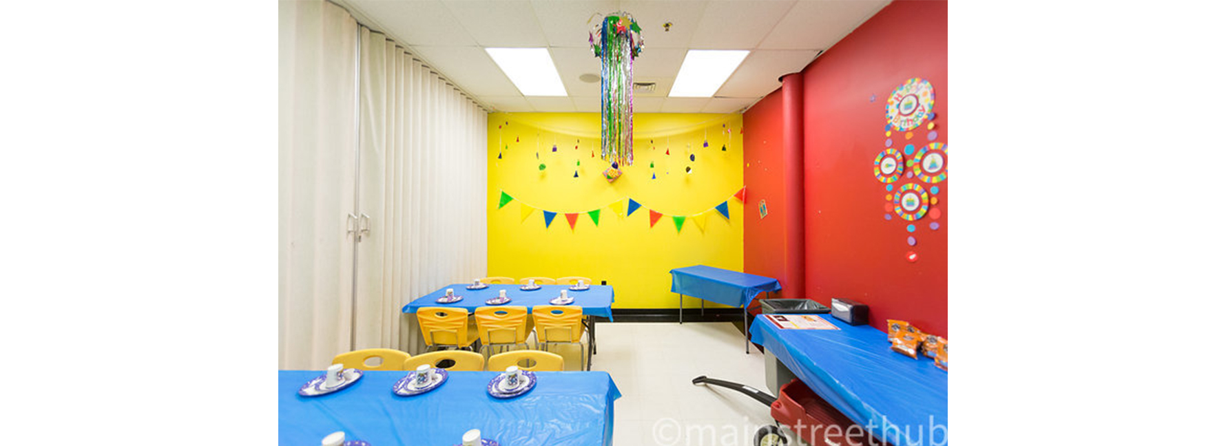 Party Rooms are available for Kids' Birthday Parties! Check out our Parties Page for more info.